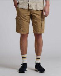 Woolrich Short cargo en coton kaki avec déchirures - Neutre