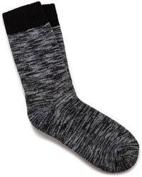 Birkenstock Calcetines algodón negros