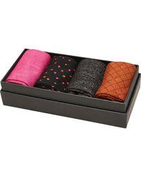 SELECTED Socks 4 Pack - Multicolor
