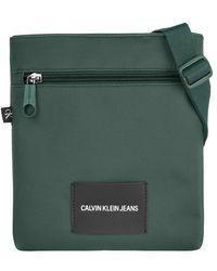 Calvin Klein Micro Flatpack Duck Green - Verde
