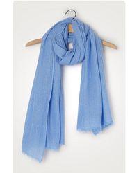 American Vintage Fatistreet Scarf Fati 500 Blue