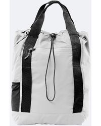 Rains - Ultralight Waterproof Tote Back Pack Bag In Black Or Ash Grey - Lyst