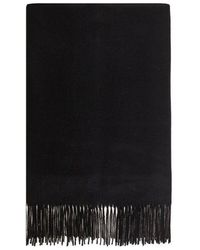 Vero Moda Knitted Scarf - Gray