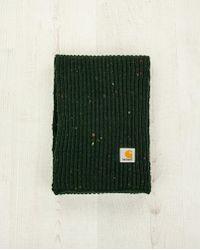 Carhartt Green Anglistic Scarf