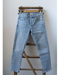 Citizens of Humanity Emerson Ever Light Vintage Slim Fit Boyfriend Jeans - Blue