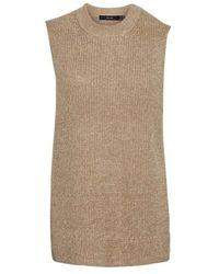 Vero Moda Https://www.trouva.com/it/products/vero-moda-lea-tan-knitted-vest - Neutro