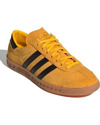Hamburg Crew Shoes Yellow, Black & Metalic Gold