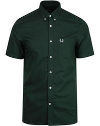 Fred Perry - Camisa Oxford Clásica Algodón Mallard - Lyst