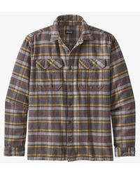 Patagonia L/s Fjord Flannel Shirt - Multicolor