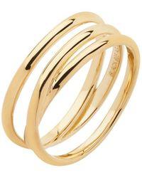 Maria Black - Gold Emilie Wrap Ring - Lyst