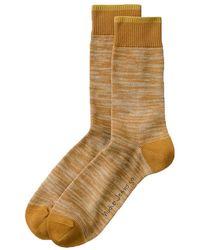 Nudie Jeans Calcetines Rasmusson Multi Yarn (Cinnamon) - Marrón