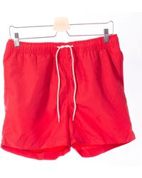 SELECTED Selected Red Bath Shorts