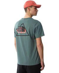 The North Face T-shirt Vert Threeyama - Multicolore
