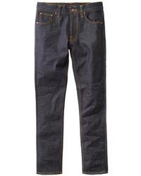 Nudie Jeans 16 Dips Lean Dean Dry Jean - Azul