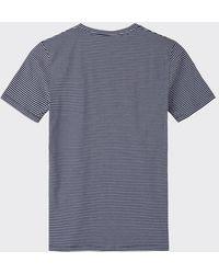 Minimum Navy 3254 Luka T-Shirt - Blau
