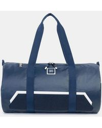 Herschel Supply Co. Borsone Sparwood in tessuto rivestito in tessuto poliestere blu scuro