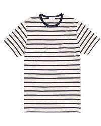 Sunspel - T-shirt Breton à rayures - Lyst