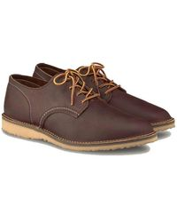 Red Wing Chaussure Oxford Weekenr 3303 Cuivre - Marron