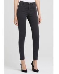 AG Jeans - Ag Farrah Shark Grey - Lyst