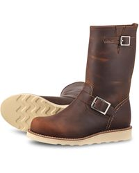 Red Wing Red Wing Classic Engineer 3471 Copper Rough & Tough - Brown