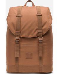 Herschel Supply Co. - Saddle Brown Retreat Mid Volume Light Backpack - Lyst