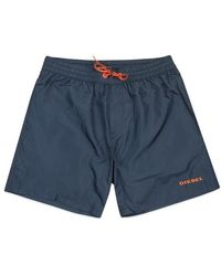 DIESEL Wave Swim Shorts Navy - Blue