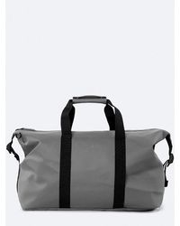Rains Weekend Duffle Bag In Charcoal - Gray