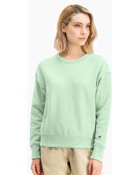 Champion Mint Crewneck Sweatshirt - Green