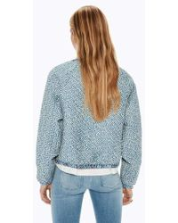 Maison Scotch - Quilted Bomber Jacket - Lyst