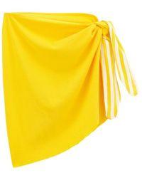 Petit Bateau Womens Sarong - Yellow