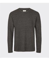 Minimum - Reiswood Jumper Dark Grey - Lyst