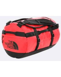 The North Face Red and Black Base Camp Duffel - Rojo