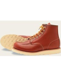 Red Wing - Red Wing Moc toe 8131 Oro Russet - Lyst
