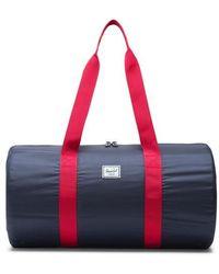 Herschel Supply Co. Duffle Packable Navy - Rouge