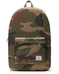 Herschel Supply Co. Packable Daypack Woodland Camo - Grün