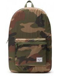 Herschel Supply Co. Packable Daypack Woodland Camo - Verde