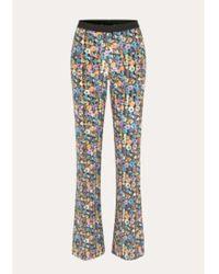 Stine Goya Pantalon Euphoria Andy Flower - Multicolore