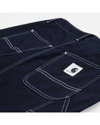 Carhartt W' Pierce Skirt Dark Navy Rigid - Blue