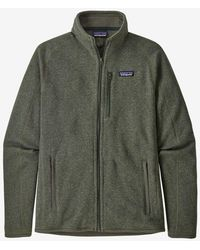 Patagonia Chaqueta tipo suéter para hombre Industrial Green Better - Verde