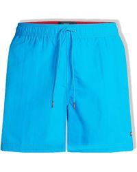 Tommy Hilfiger Slim Fit Swim Shorts Hyper Blue