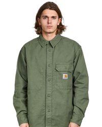 Carhartt WIP Camicia spessa Kaky - Verde