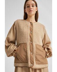 SELECTED Slfcasie Jacket Beige - Natural