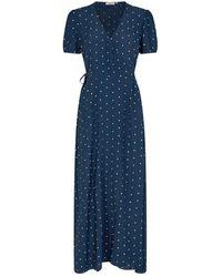 Minimum Https://www.trouva.com/it/products/-navy-blazer-elastica-midi-dress-7456 - Blu