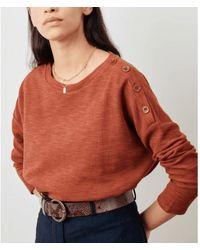 Sessun Camiseta Austin Tierra - Rojo
