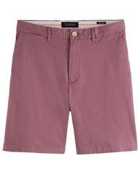 Scotch & Soda Stuart Pima Cotton Shorts Resort - Multicolor