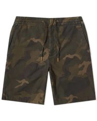 Barbour Shorts camuflaje ver oliva - Verde