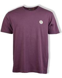 Nudie Jeans - T-Shirt Uno NJCO Circle (Viola) - Lyst