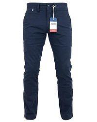 Tommy Hilfiger Pantalon Scanton Chino Marine - Bleu