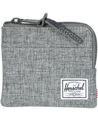Herschel Supply Co. - Raven Crosshatch Johnny Wallet - Lyst