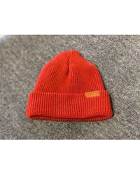Red Wing Https://www.trouva.com/it/products/red-wing-shoes-red-wing-97493-merino-wool-hat-red - Rosso